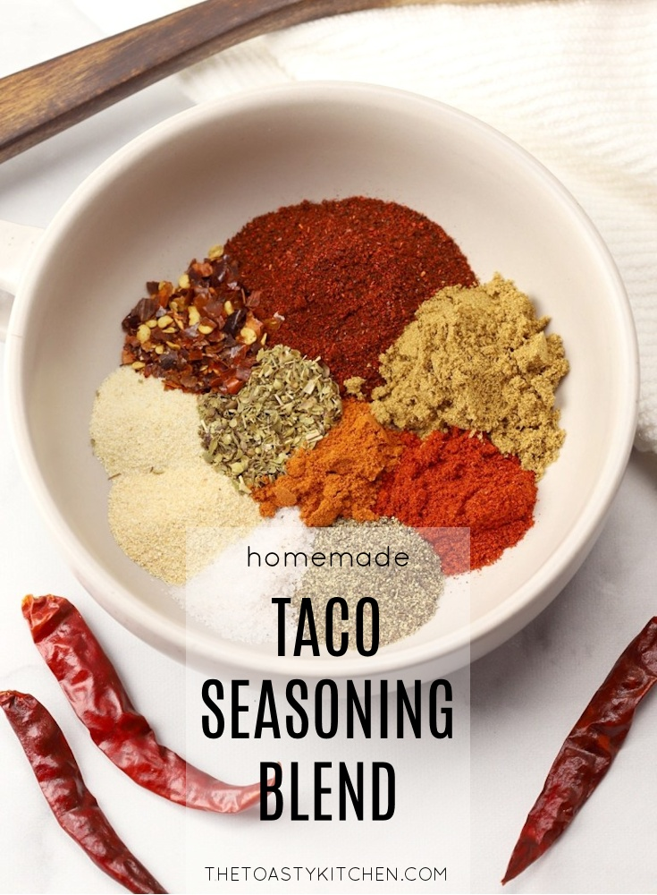 Easy Homemade Taco Seasoning by The Toasty Kitchen