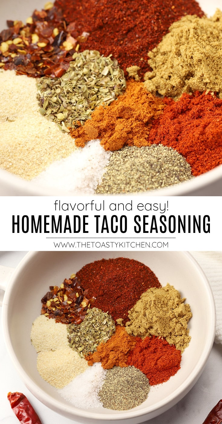 Taco seasoning recipe.