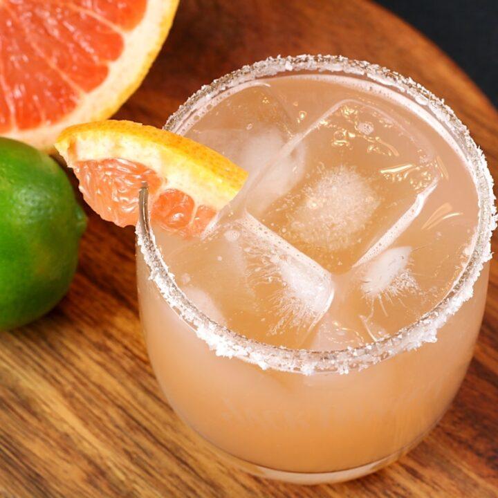 Fresh Grapefruit Margarita by The Toasty Kitchen