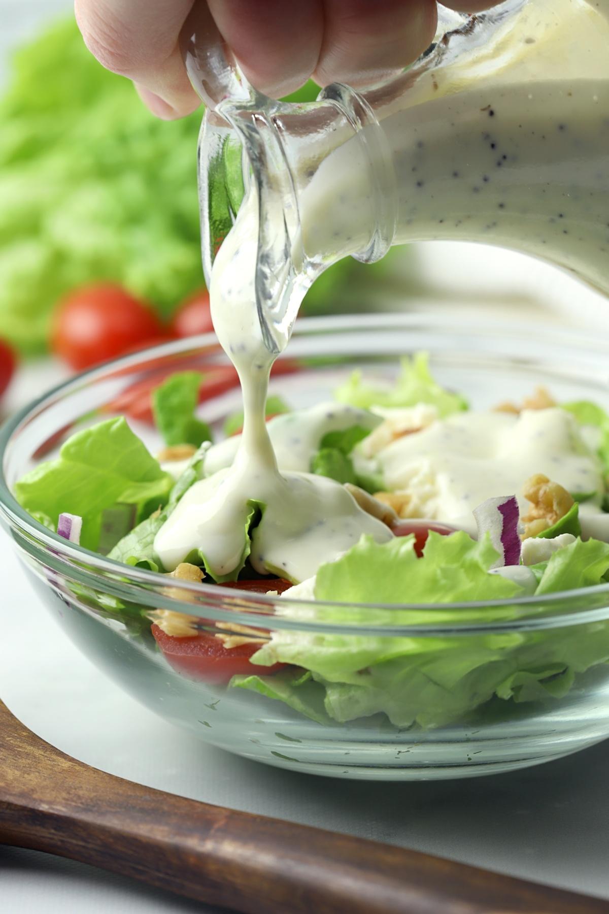 Greek Yogurt Poppy Seed Dressing - The