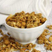 Peanut Butter Honey Granola by The Toasty Kitchen