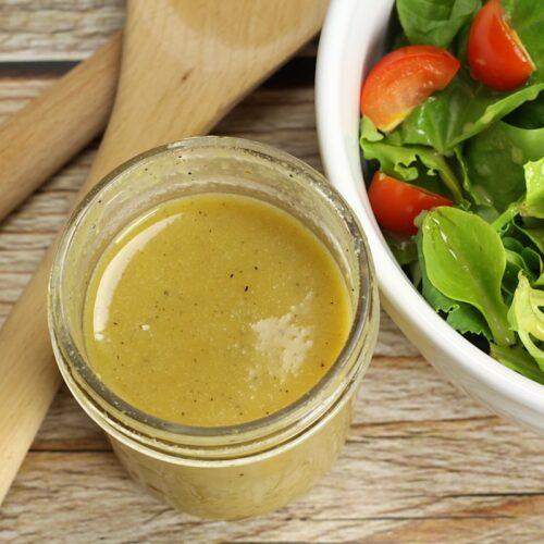 Light Honey Mustard Salad Dressing