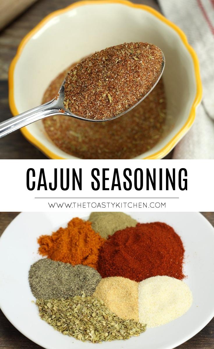 Cajun Seasoning by The Toasty Kitchen