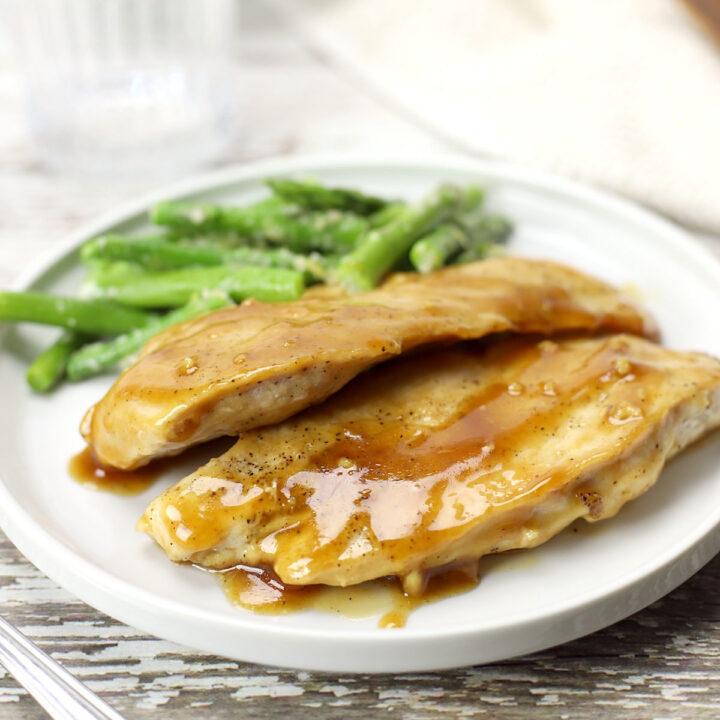 Maple glazed chicken recipe.