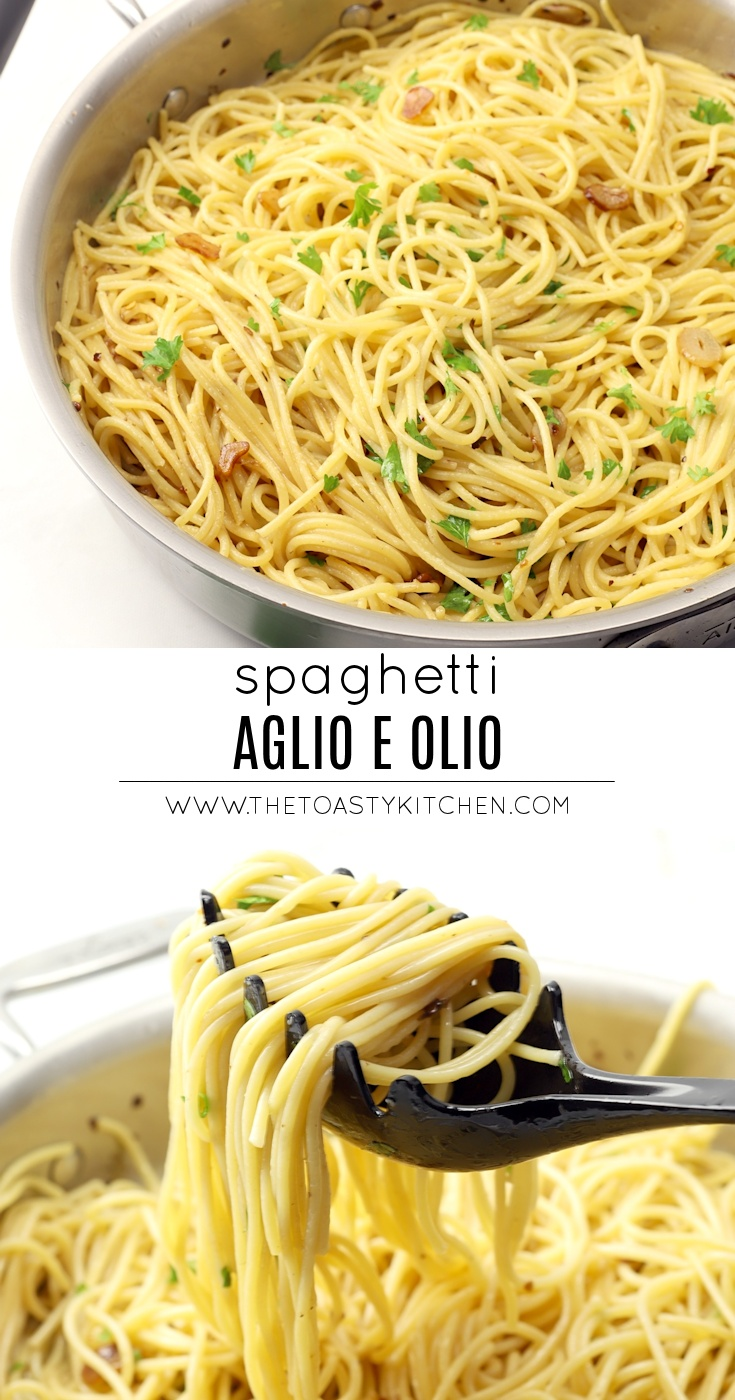 Spaghetti Aglio e Olio by The Toasty Kitchen