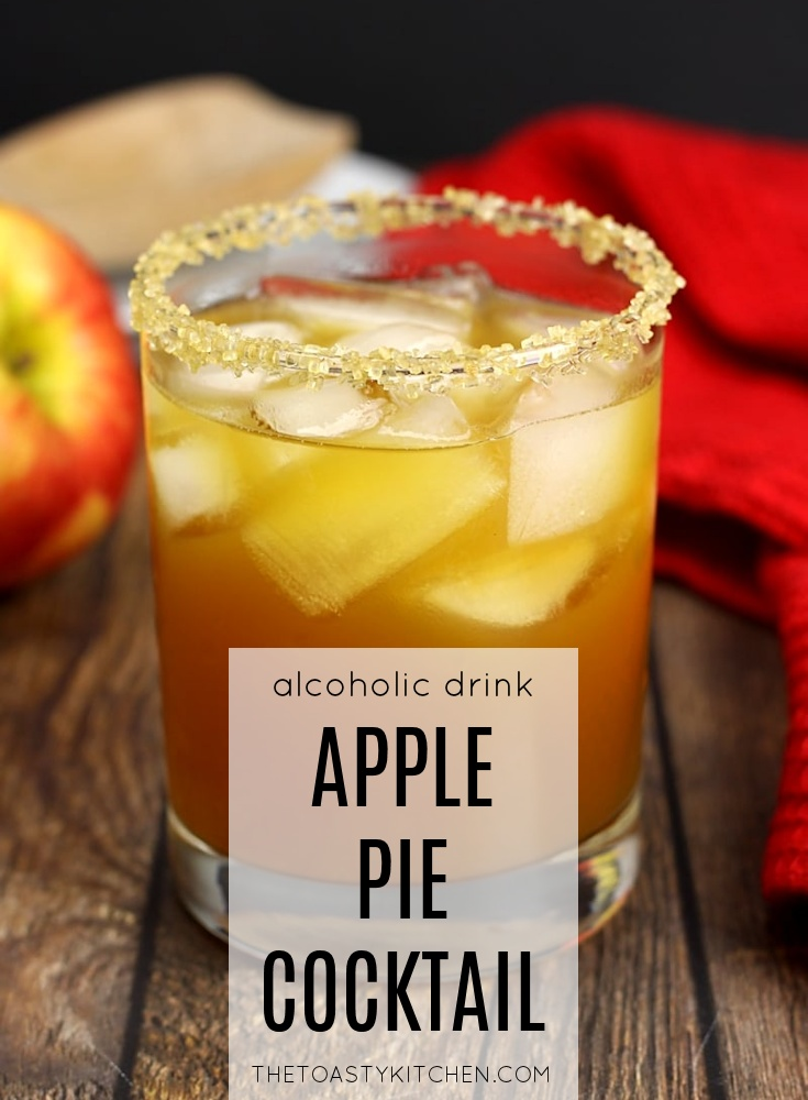 Apple Pie Cocktail by The Toasty Kitchen