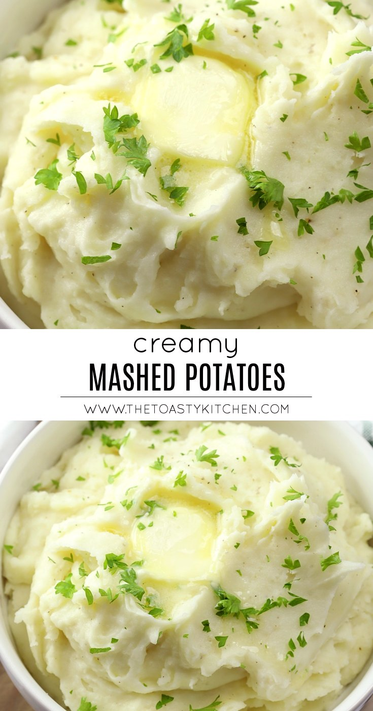 Creamy Mashed Potatoes by The Toasty Kitchen