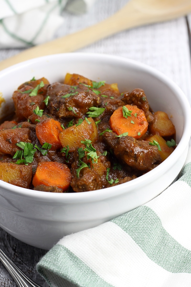Easy Beef Stew From Scratch The Toasty Kitchen