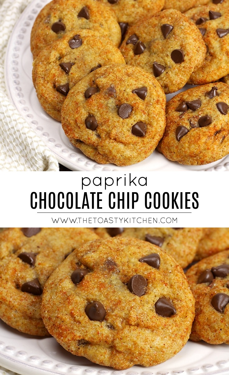 Paprika Chocolate Chip Cookies by The Toasty Kitchen