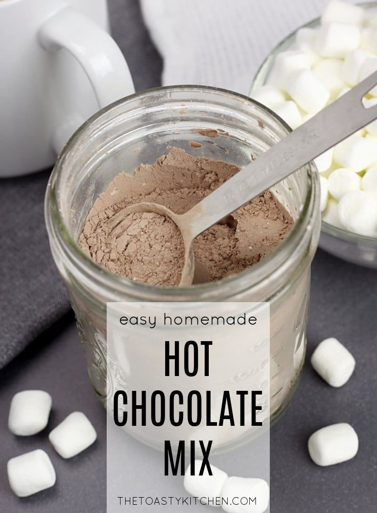 Homemade Hot Chocolate Mix by The Toasty Kitchen