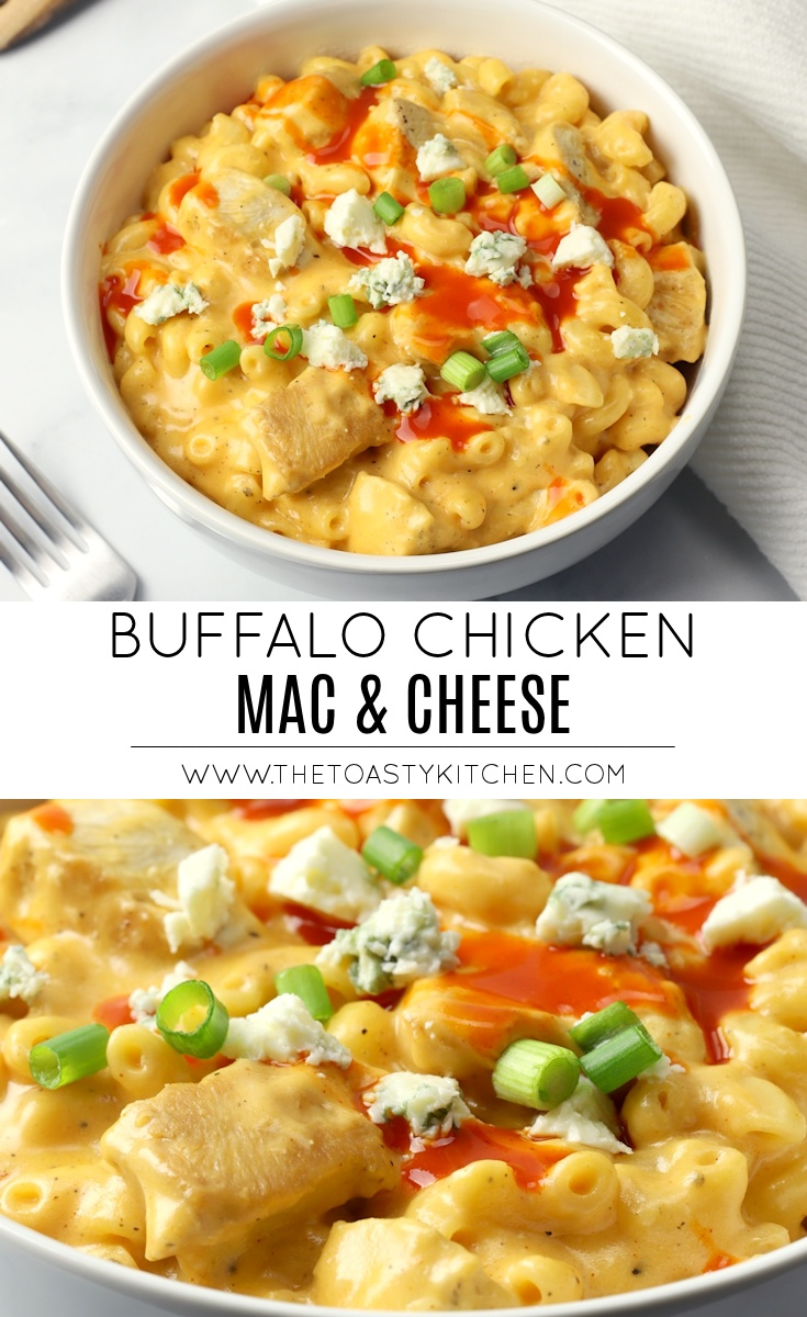 Buffalo Chicken Mac and Cheese by The Toasty Kitchen