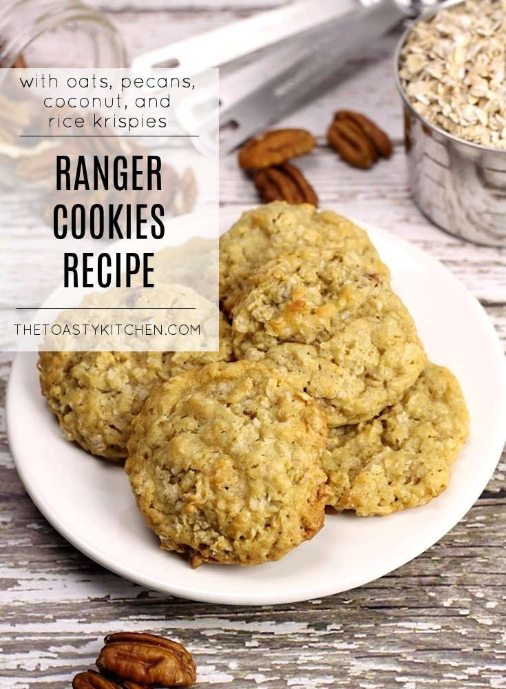 Ranger Cookies by The Toasty Kitchen