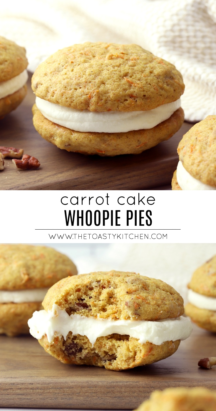 Carrot Cake Whoopie Pies by The Toasty Kitchen