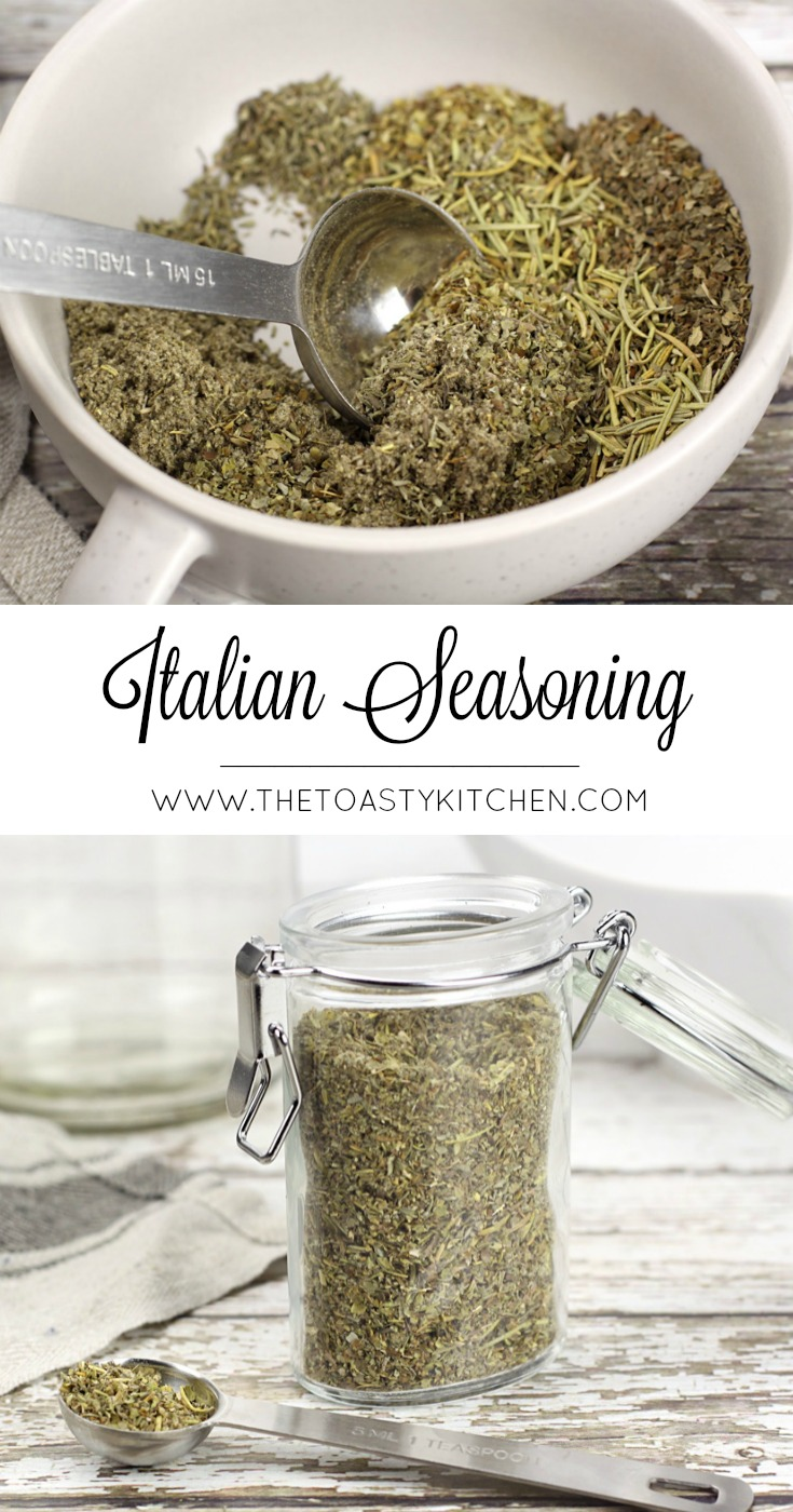 Italian Seasoning by The Toasty Kitchen