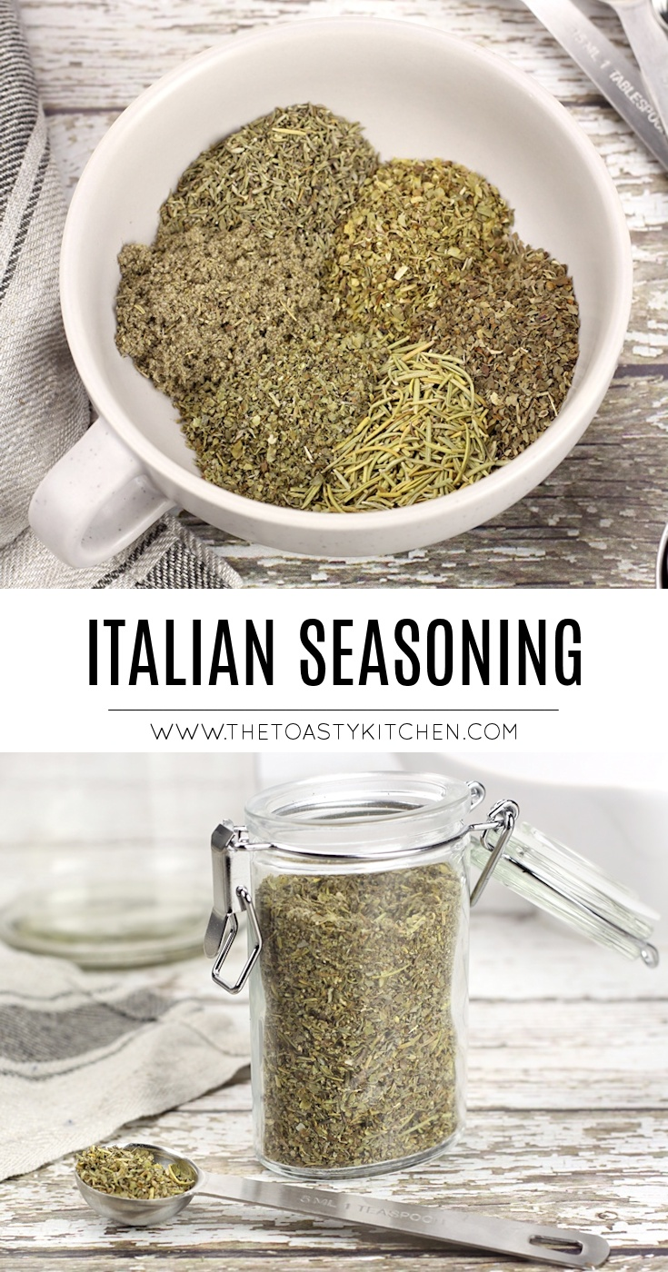 Italian Seasoning by The Toasty Kitchen