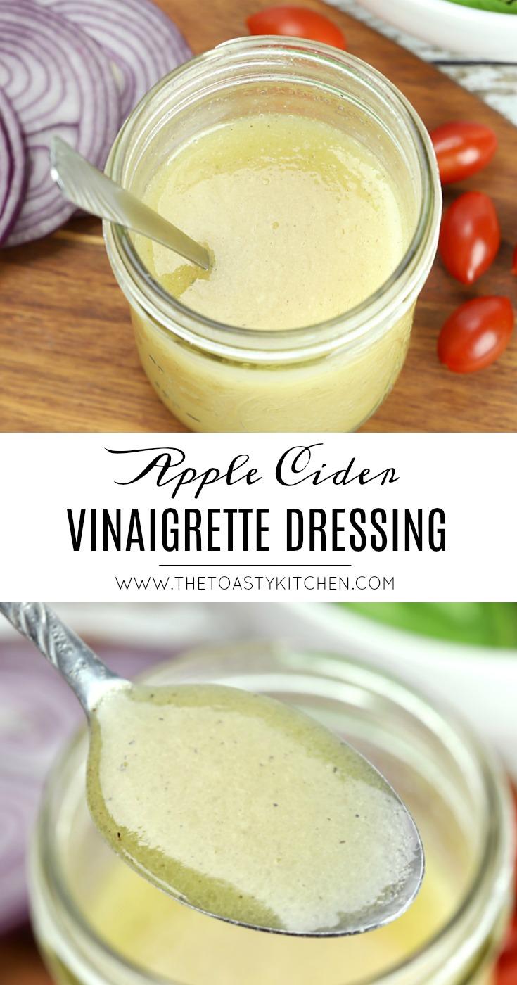 Apple Cider Vinaigrette Dressing by The Toasty Kitchen