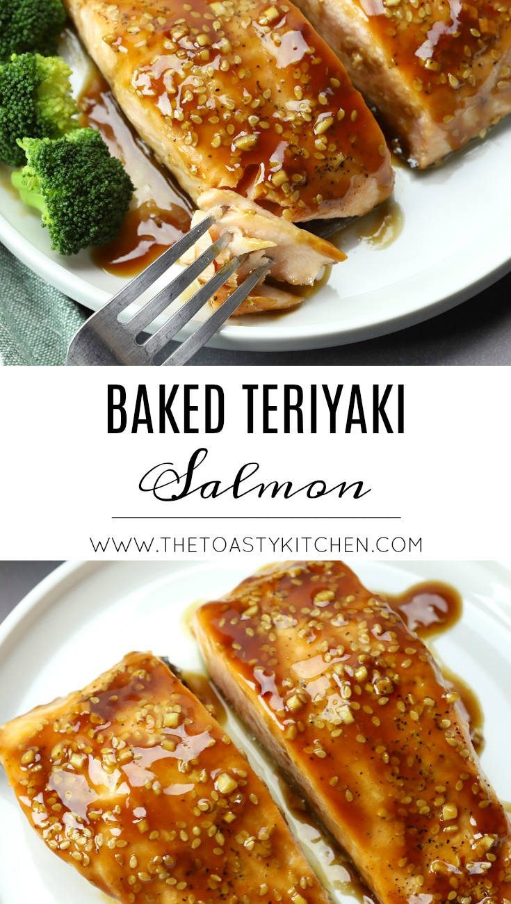 Baked Teriyaki Salmon by The Toasty Kitchen
