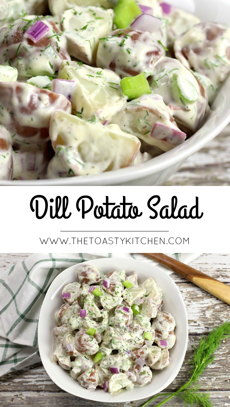 Dill Potato Salad by The Toasty Kitchen