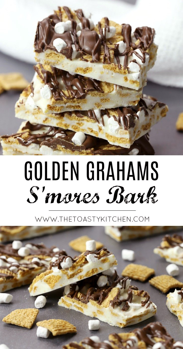 Golden Grahams S'mores Bark by The Toasty Kitchen