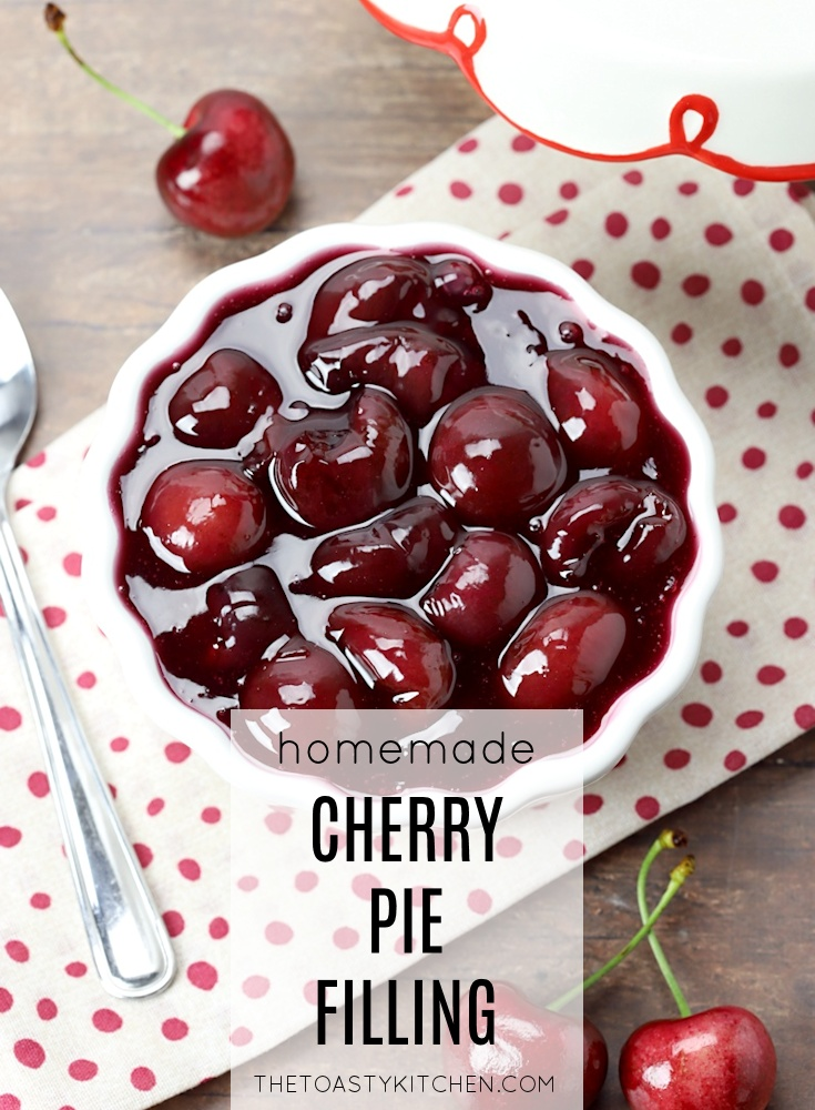 Cherry Pie Filling by The Toasty Kitchen