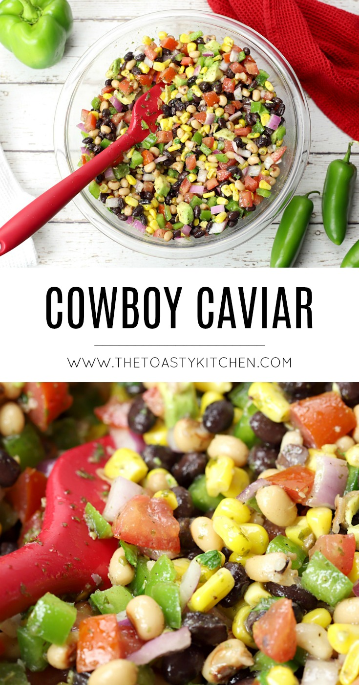 Cowboy Caviar by The Toasty Kitchen