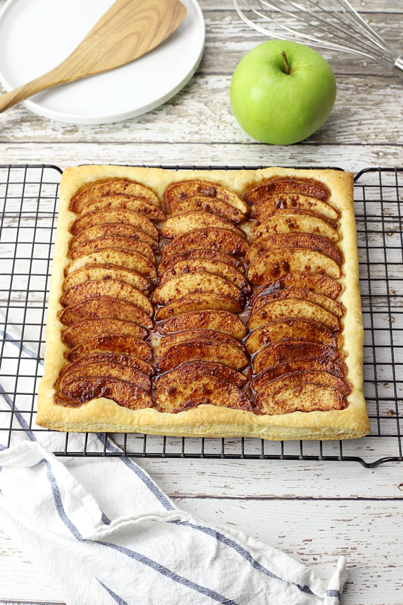 Puff Pastry Apple Tart The Toasty Kitchen