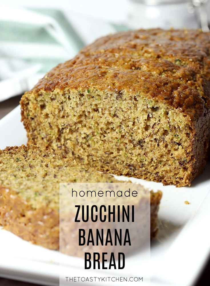 Zucchini Banana Bread by The Toasty Kitchen