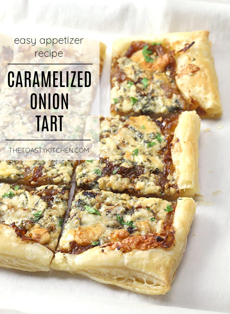 Caramelized onion tart recipe.