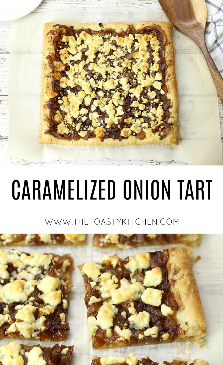 Caramelized Onion Tart by The Toasty Kitchen