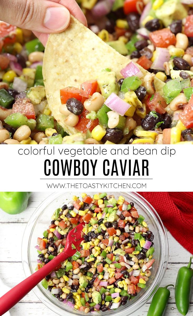 Cowboy caviar recipe.