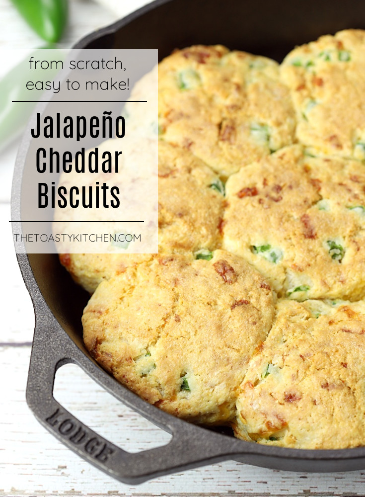 Jalapeño cheddar cornmeal biscuits recipe.