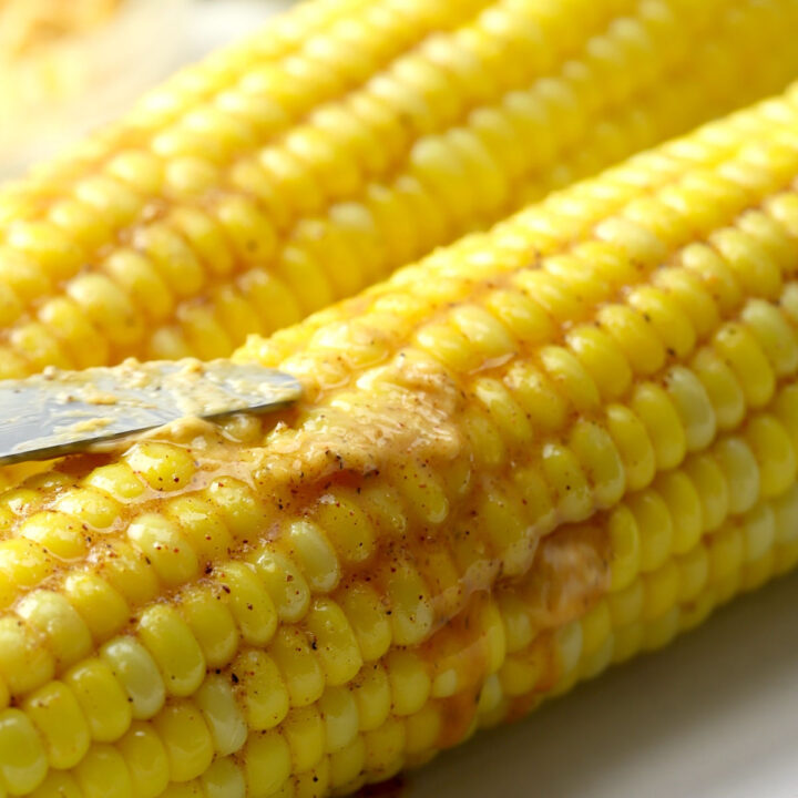 Oven roasted corn on the cob recipe.