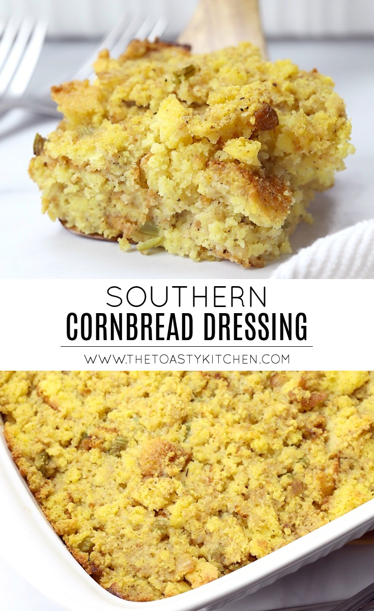 Southern cornbread dressing recipe.