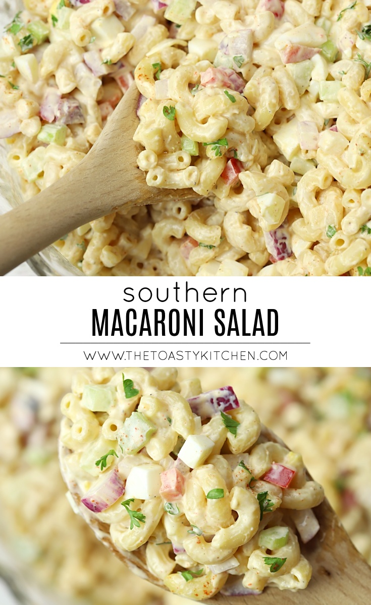 Southern Macaroni Salad by The Toasty Kitchen