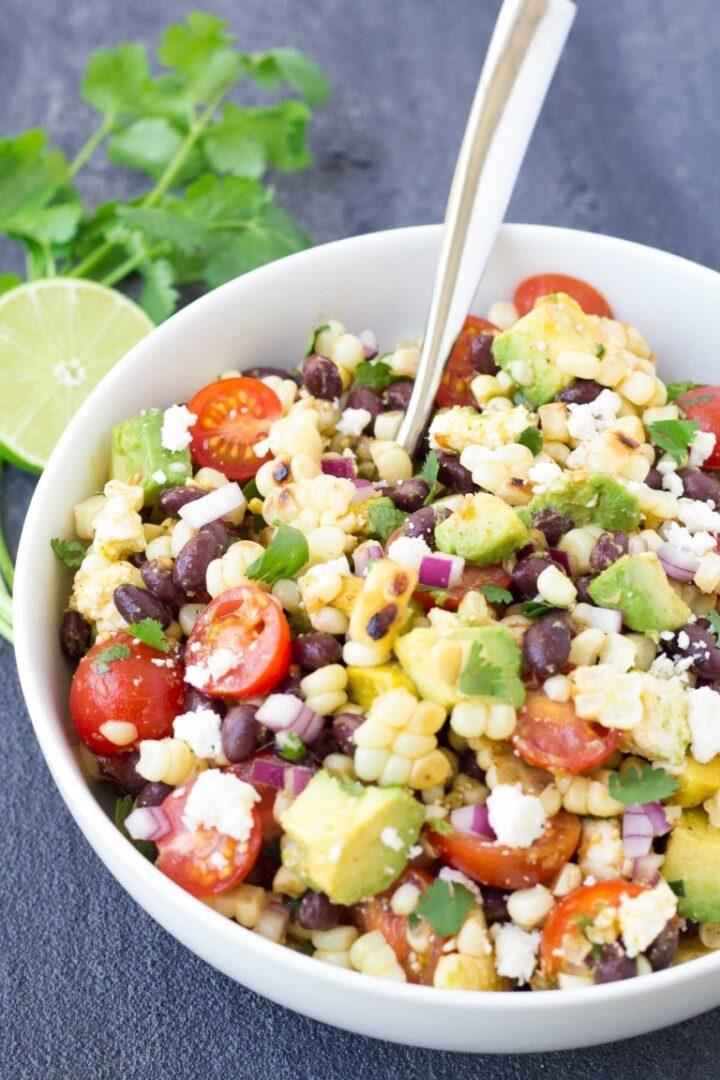 Summer Grilled Corn Salad