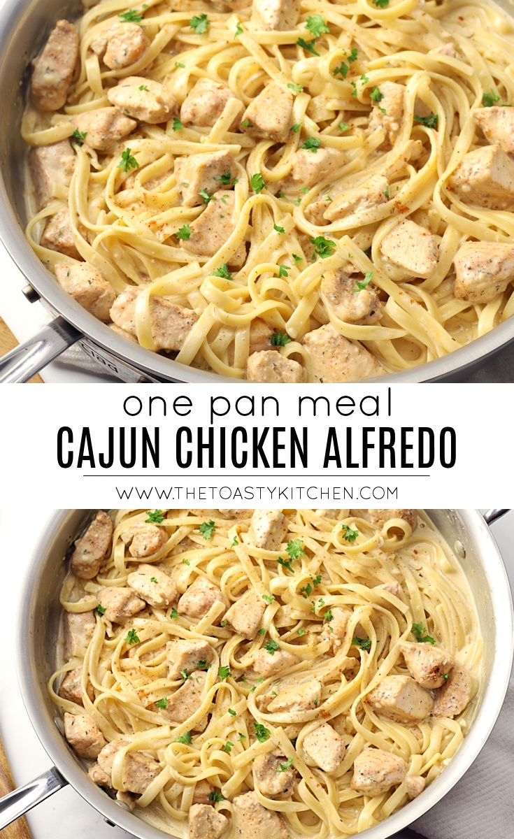 Cajun chicken alfredo recipe.