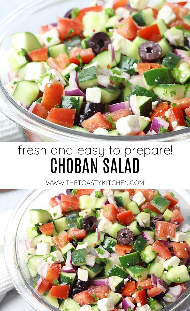 Shepherd's salad recipe.
