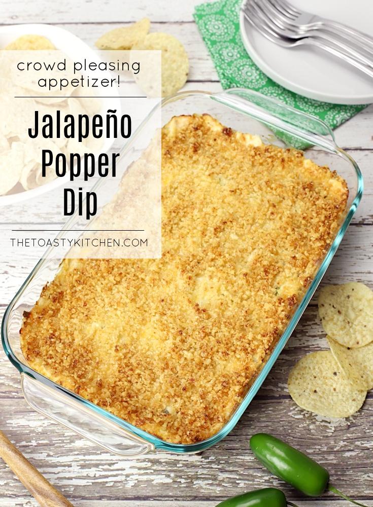 Jalapeño Popper Dip by The Toasty Kitchen