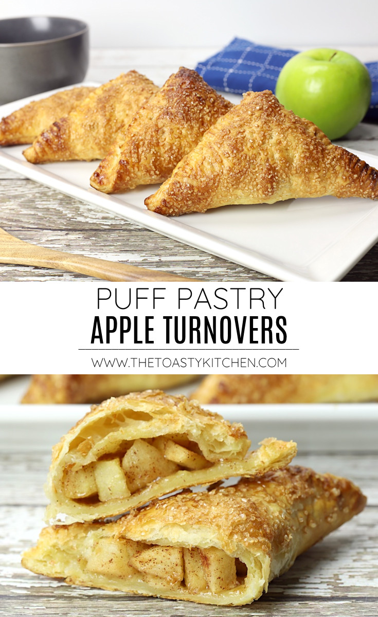 Puff pastry apple turnovers recipe.