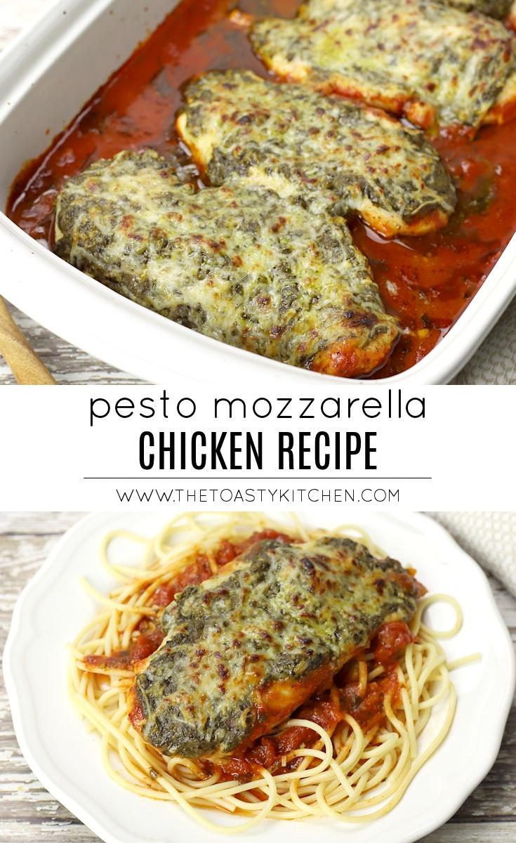 Pesto Mozzarella Chicken by The Toasty Kitchen