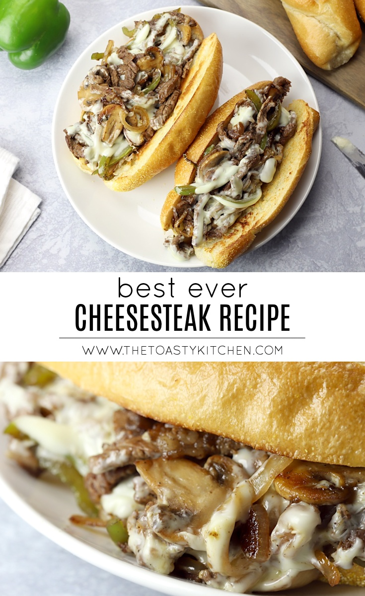 Best Ever Cheesesteak by The Toasty Kitchen
