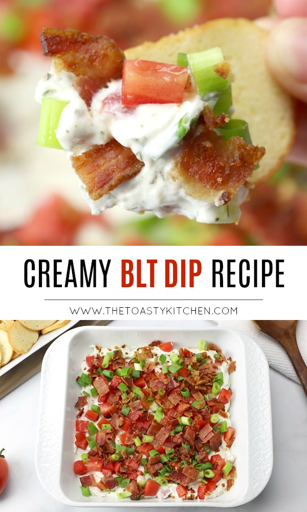 BLT Dip by The Toasty Kitchen
