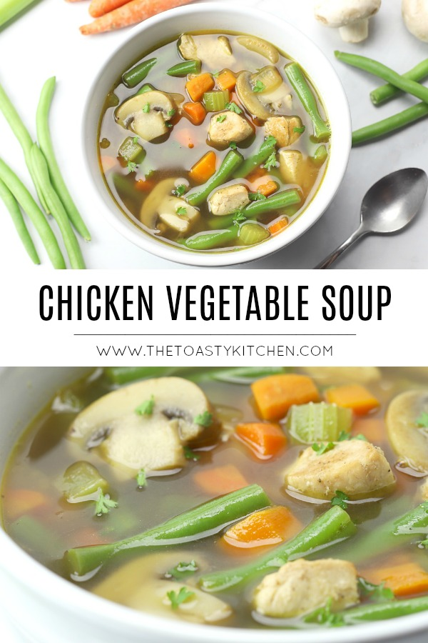 Chicken Vegetable Soup by The Toasty Kitchen