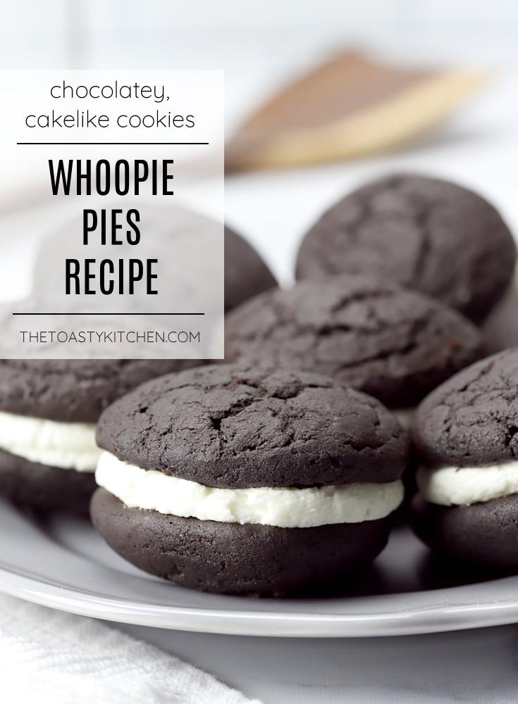 Whoopie pies recipe.