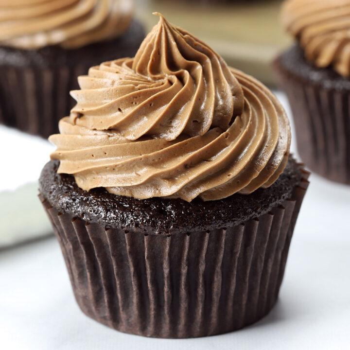 Chocolate cupcake recipe.