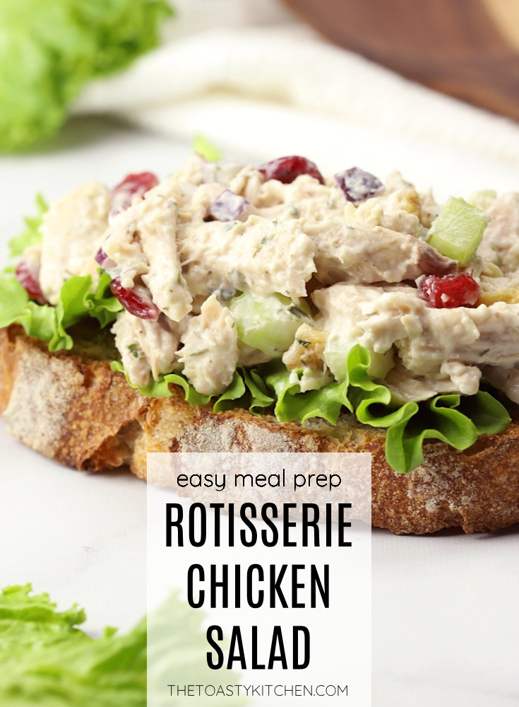 Rotisserie chicken salad recipe.