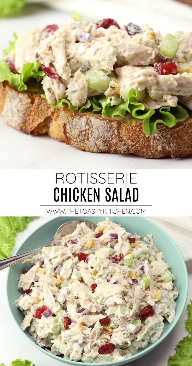 Rotisserie chicken salad recipe.