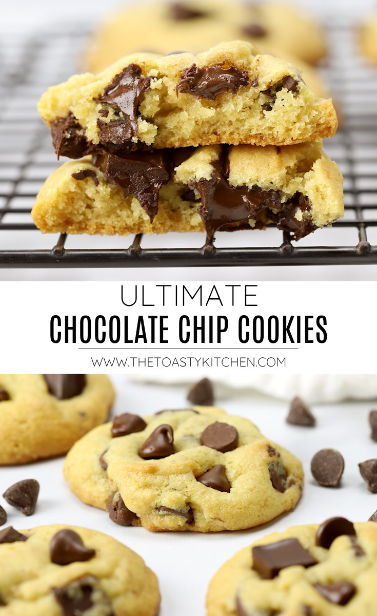 Ultimate chocolate chip cookies recipe.