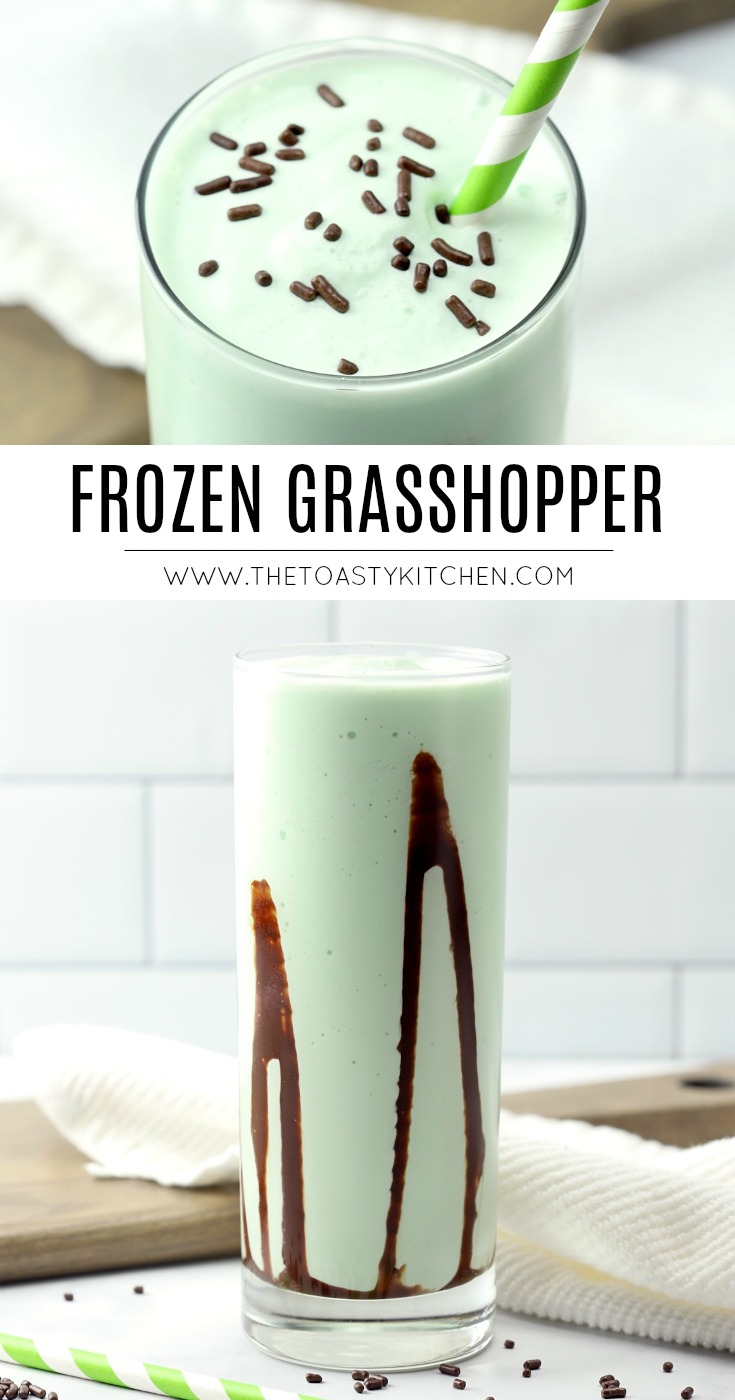 Frozen Grasshopper by The Toasty Kitchen
