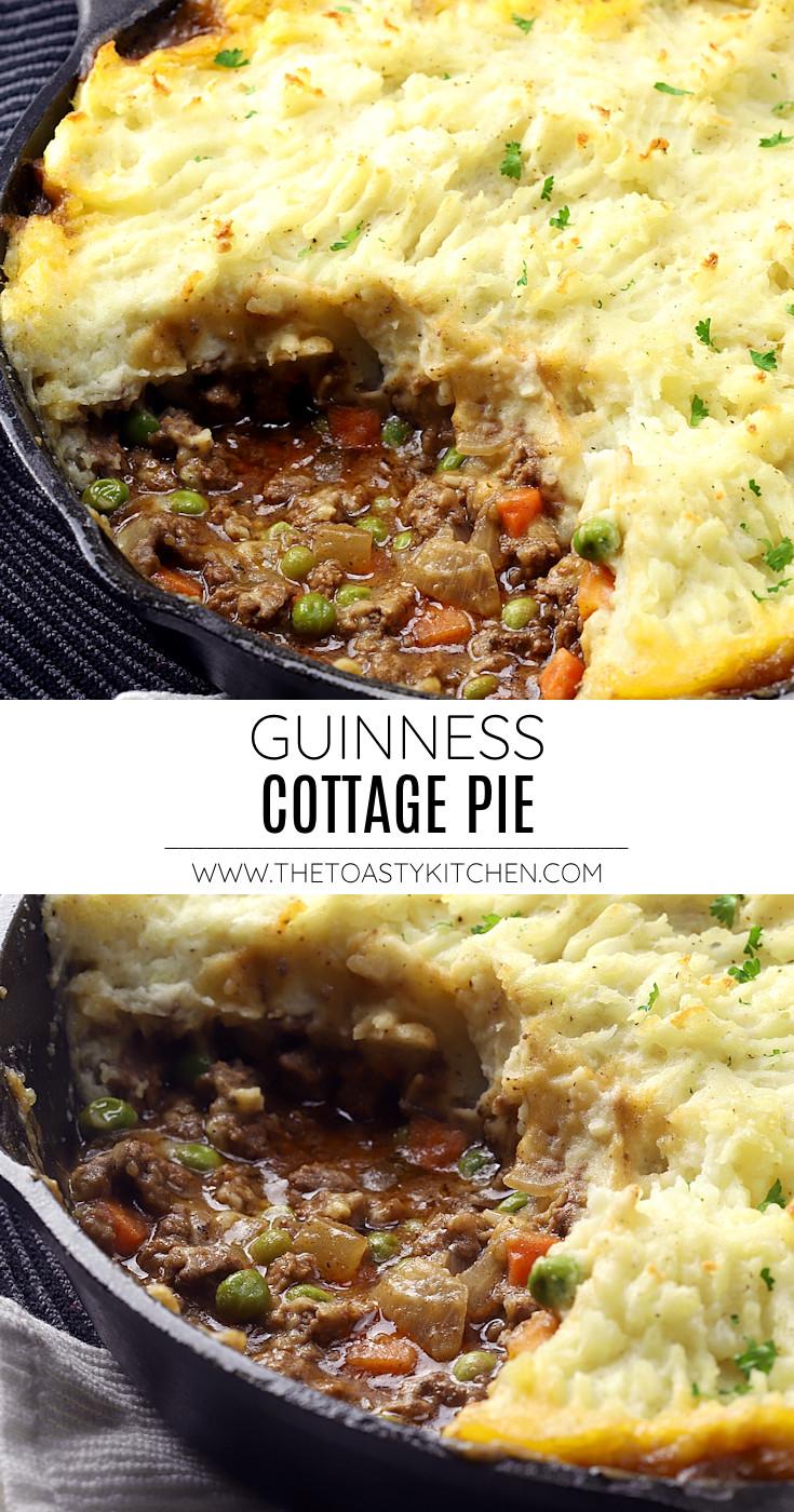 Guinness cottage pie recipe.